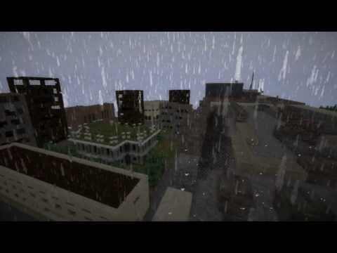 Zombie Apocalypse Dayz Ganzurino Minecraft Map! 5000x5000 blocks ...