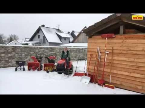 Wolf-Garten Wintergeräte Schneeschaufel Schneefräse Streugeräte