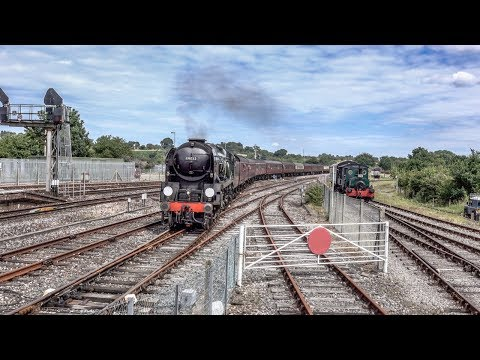 The End of Southern Steam Railtour at Yeovil Junction Saturd…