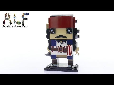 Vidéo LEGO BrickHeadz 41593 : Captain Jack Sparrow