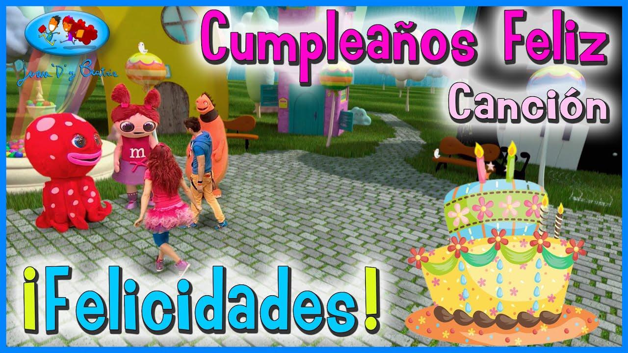 CUMPLEAÑOS FELIZ (Full HD) - Happy Birthday (Spanish) ♪♪ Canción y Felicitación