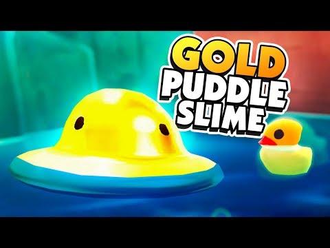 GOLD PUDDLE SLIME & MORE GOLD LARGOS - Slime Rancher Gold Largo Mod
