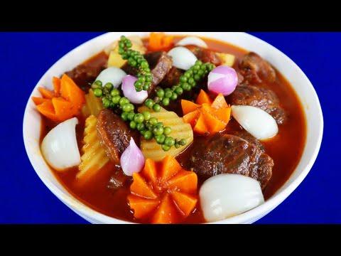 Bò Hầm Tiêu Xanh