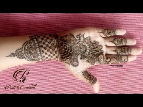 Download Top Elegant And Stylish Hand Mehndi Design Indo Arabic