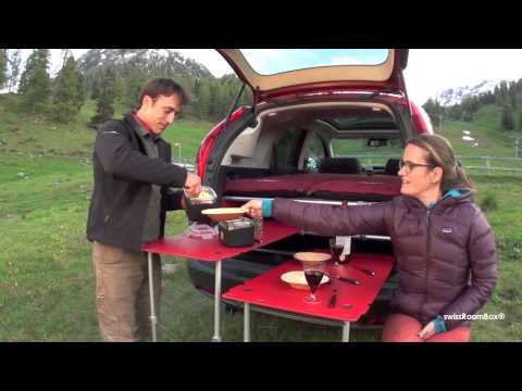 Swiss Roombox Turn Your Car Into A Camper Van