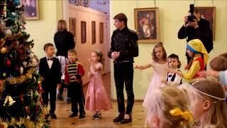 """Семейная Дворянская Ёлка накануне ледового шоу """"Щелкунчик"""" в СПб"""