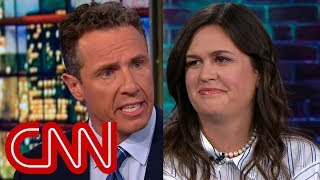 Watch Chris Cuomo's full interview with Sarah Sanders