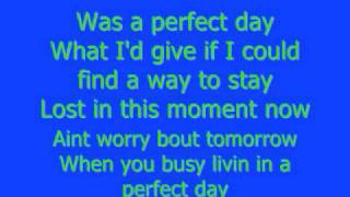Perfect Day Lady Antebellum Lyrics