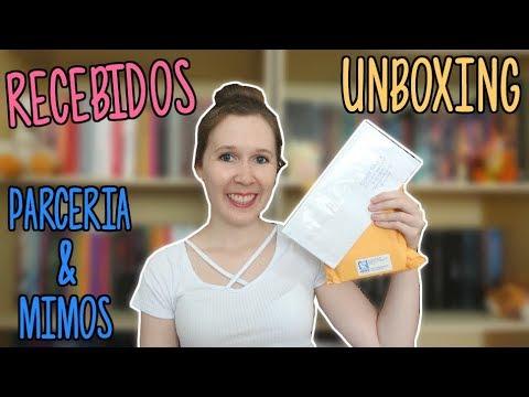 Unboxing de Recebidos | Leituras de Deni