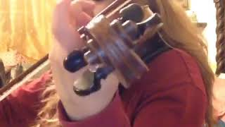 Little Bit Of ARSLANBEK SULTANBEKOV - DOMBRA Cover Played By @lubellagauna With Violin