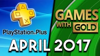 PlayStation Plus VS Xbox Games With Gold (April 2017)