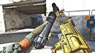 Call of Duty Modern Warfare - 93 KILLS Gold Camo Multiplayer Gameplay (Headquarters)