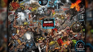 Call of Duty Zombies 10 Year Anniversary 1000 Piece Puzzle Time Lapse