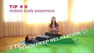 How to Teach Savasana  ~ 7 TIPS For Yoga Teachers