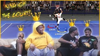 Taking The Beef To The Blacktop! Who's The King Of The Court?? (NBA 2K20 Blacktop Tourney)