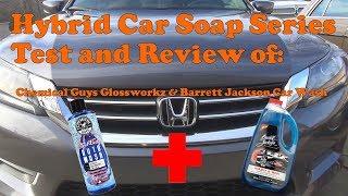 Hybrid soap mixture with CG Glossworkz and Barrett Jackson Car Wash