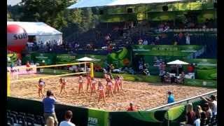 preview picture of video 'Występ tancerek SK Banku cz.1 Stare Jabłonki 2013'