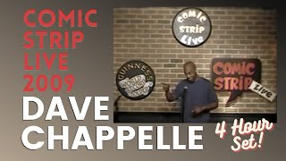 "Dave Chappelle ""Comic Strip Live"" (2/27/09) AUDIO RESTORED"