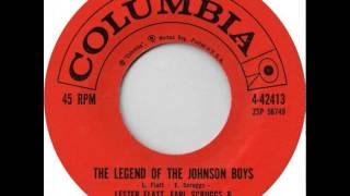 Flatt & Scruggs ~ The Legend Of The Johnson Boys