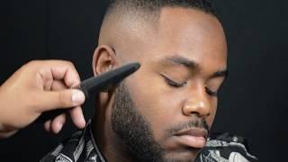 Bald Fade w/ Beard Line Up