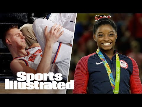Porzingis' Season-Ending Injury, Simone Biles On Winter Olympics | SI NOW | Sports Illustrated