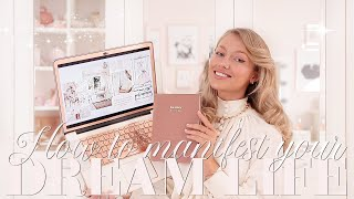 How to Manifest Your DREAM LIFE this year ~ Planners, Vision Boards, Mindset ~ Freddy My Love