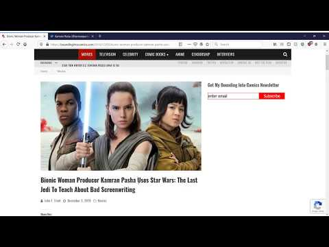 Professional Screenwriter uses The Last Jedi to teach how not to write a screenplay