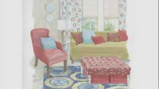 Interior Decorating Tips With Bright Color Scheme