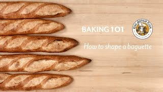 How To Shape A Baguette