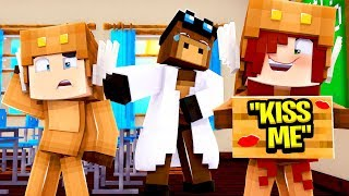 Minecraft Daycare - BABY GIRLFRIEND TRUTH OR DARE KISS! W/ MooseCraft (Minecraft Kids Roleplay)