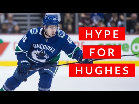 Vancouver Canucks VLOG: why I was even more excited for Quinn Hughes than Pettersson or Boeser