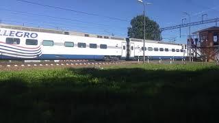 Новый обновлённый поезд Аллегро