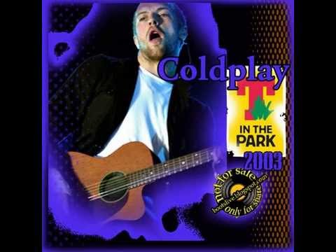 Coldplay - Lips Like Sugar (With Ian McCulloch) Live T in The Park 2003