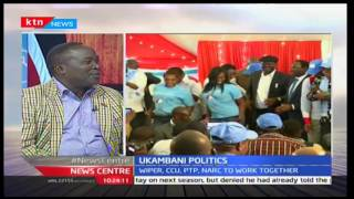 News Center: Ukambani leaders unite to support Kalonzo's, NASA bid
