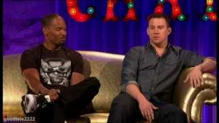 Channing Tatum and Jamie Foxx FUNNY Interview