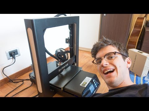 LA MIA PRIMA STAMPANTE 3D!