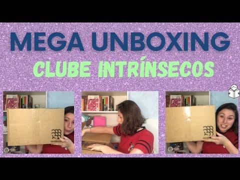 MEGA UNBOXING LIVROS INTRÍNSECOS - Compras Black Friday