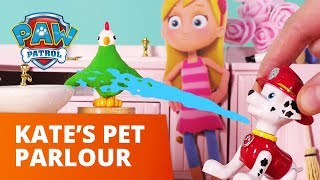 PAW Patrol | Kate's Peculiar Pet Parlor | Toy Episode | PAW Patrol Official & Friends