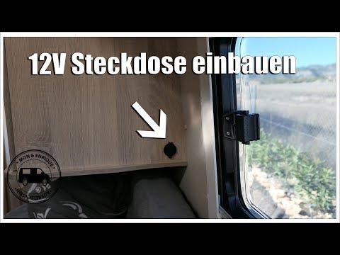 12V Steckdose einbauen – Kastenwagen - Wohnmobil Technik Tipps