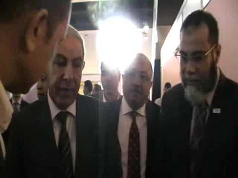 الوزير/طارق قابيل يفتتح ملتقى التوظيف الخامس للعمالة الفنية