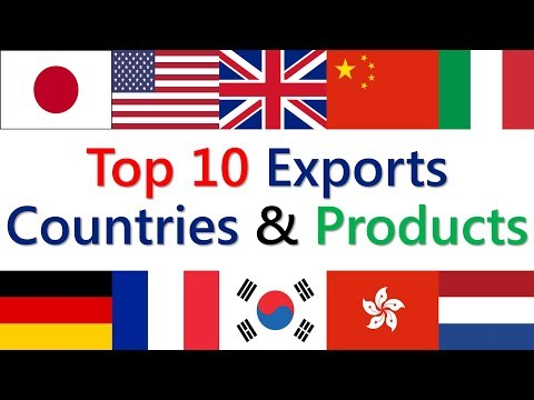 , title : 'Import Export USA : Top 10 Exports Countries and Products In World 2021