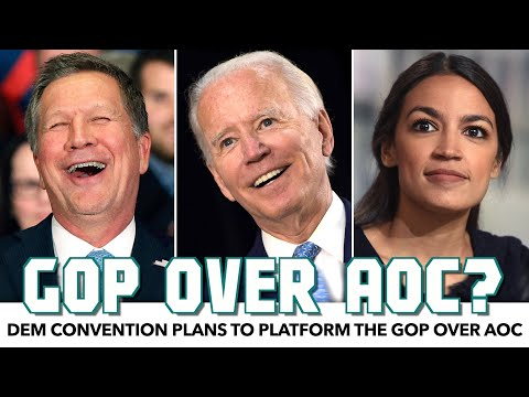 Democratic Convention To Spotlight Republicans Over AOC