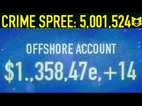 PAYDAY 2 - Crime spree in a nutshell (5 million crime spree)