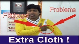 Clothing Alterations Tips Of Dress | Fittings Tips Explain | Easy Method | Cutting | Part 5 Of 7