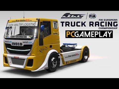 Gameplay de FIA European Truck Racing Championship