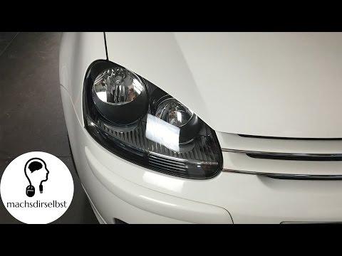 [Golf V] Scheinwerfer ausbauen/wechseln Tutorial (HD)