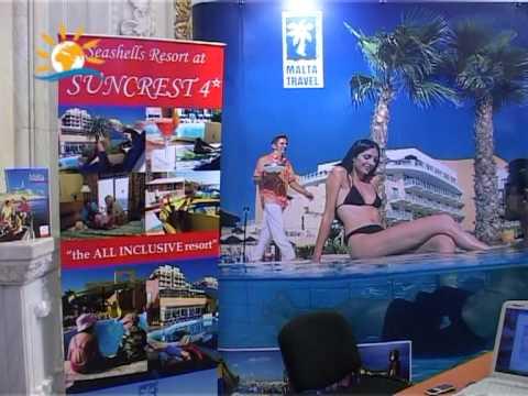 Interviu Florin Sfarlea – Malta Travel, Târg Holiday Market, 17-21 martie, Bucureşti – VIDEO