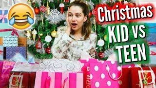 Kid Vs. Teen Christmas   Then Vs. Now!