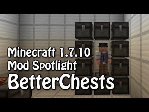 BetterChests - Minecraft 1.7.10 Mod Spotlight