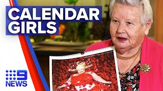 Aged care residents launch calendar to support bushfire communities | 9 News Australia